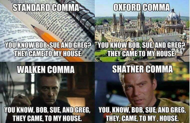 Punctuation Meme